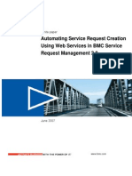 0information About Automating Creation of Service Requests Using Web Services in BMC Service Request Management (SRM) 2.0.