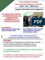 Artículo Científico FEDU - 2013
