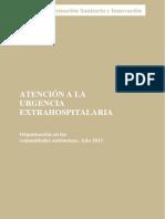 Atencion Urgencia Extrahospitalaria 2011