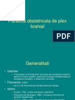 Paralizia Obstetricala de Plex Brahial