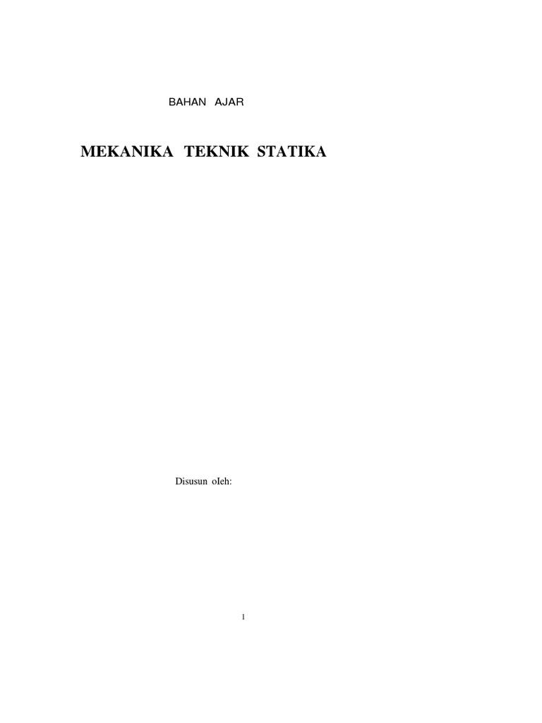 Mekanika teknik statika 1533037219v1 ccuart Gallery
