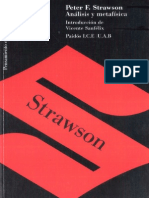 Strawson Analisis y Metafisica OCR Desconocido