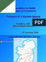 NRA Presentation for Transport 21 Briefing