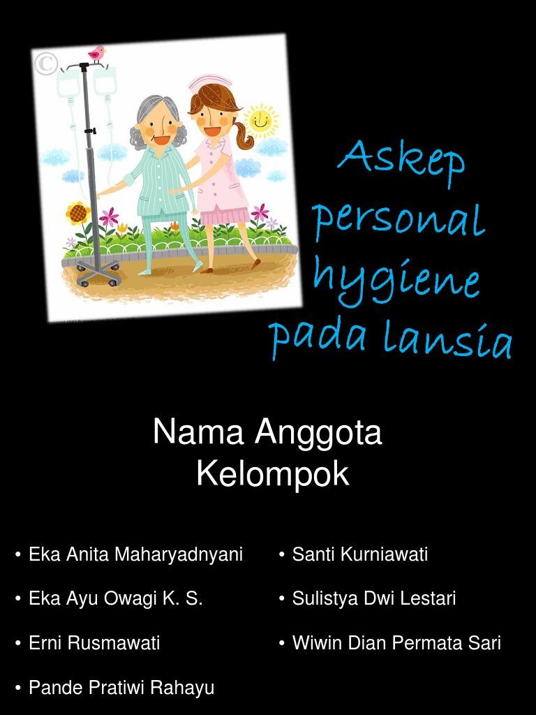 Askep Personal Hygiene Gerontik Ppt