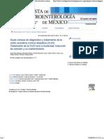 Guías Clínicas de Diagnóstico y Tratamiento de La Colitis Ulcerativa Crónica Idiopática (CUCI). Tratamiento de La CUCI Leve a Moderada