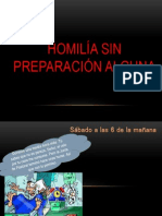 Parvol Tema de Las Homiliass