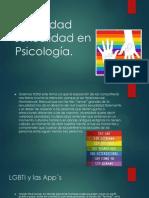 Diversidad Sexualidad en Psicología FINAL