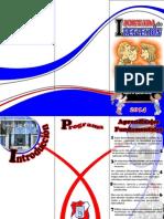 I Jornada de Reflexion 2014 -2