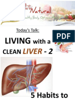 3  living with a clean liver 2 - five habits to make