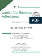 Newsletter Nº 11 Centro de Estudios Adlerianos