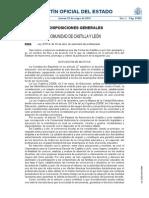 Ley de profesorado Comunidad Autónoma de castilla y León 2014
