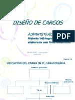 Administracion IV Diseno de Cargos