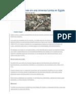 Hallan 50 Momias en Una Inmensa Tumba en Egipto
