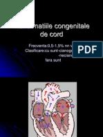 Curs Malformatiile Congenitale de Cord