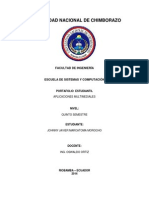 Crear Un Documento PDF Navegable Que Contenga La Información General de Sus Portafolios y Que Cuente Con Un Índice Principal e Hipervínculos en El Contenido