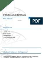 UNIDAD 1. Introducción a Las Soluciones de Inteligencia de Negocios