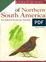 Birds of Northen South America