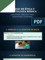 Expo de Legal- Codigo de Etica y Deontologia