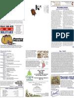 11-17-2009 Newsletter