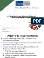 105 Ejemplos Riesgos Tipicos Para Desarrollo Modelos de Riesgos 2012[1]