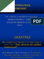Lesionologia - AB -UPAO Dr Moreno