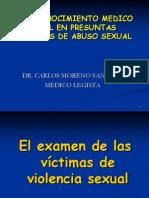 Violencia Sexual- Conferencia UPAO 2012