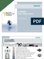 Siemens Loher Flameproof & Special Designed Motors