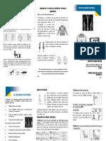 RHB-DO410-001 Taller de Higiene Postural 2013-II
