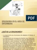 Ergonomia en El Area de Enfermeria1