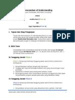 Memorandum of Understanding Rokjeans Mobile Web Dev