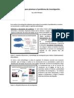 Metolologia Para Para Plantear El Problema de Investigación.