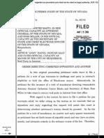 Supreme Court order- Henderson