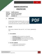 20130906 Memoria Descriptiva Ronald