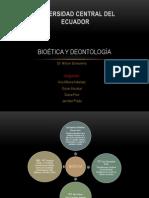Bioética y Deontología (Mapa Conceptual)