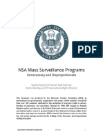 How the NSA Violates International Human Rights Standards