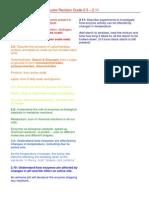 igcse c biological molecules revision guide
