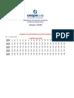 Exame OAB 2009-2 Prova Objetiva - Caderno Igualdade - Gabarito