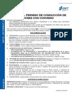 Carteira Motorista Brasil - Espanha