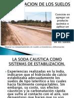 Exposicion de Pavimentos Drenajes Soda Caustica