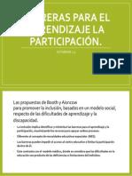 Barreras Para El Aprendizaje La Participación Actividad 2.5