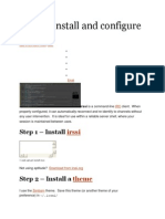 How to install and configure irssi.docx