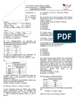 Lista de Termoquímica Gerais