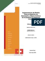 4medición de Desempeño y Mejora Continua Para Las Incubadoras de Negocios Chilenas
