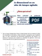 CLASE-Analisis Dimensional en Un Fermentador de Tanque Agitado