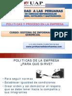 Politica de Proceso en La Empresa
