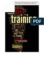 OBTE and the Army Leader Development Strategy
