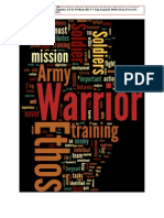 App D. Foundations in Research on Warrior Ethos
