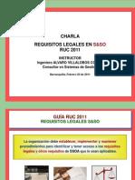 Charla Requisitos Legales S&SO - Guía RUC 2011 - AV