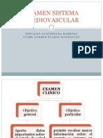 Examen Sistema Cardiovascular