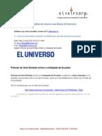 Analisis Correo Diario El Universo Julian Assange
